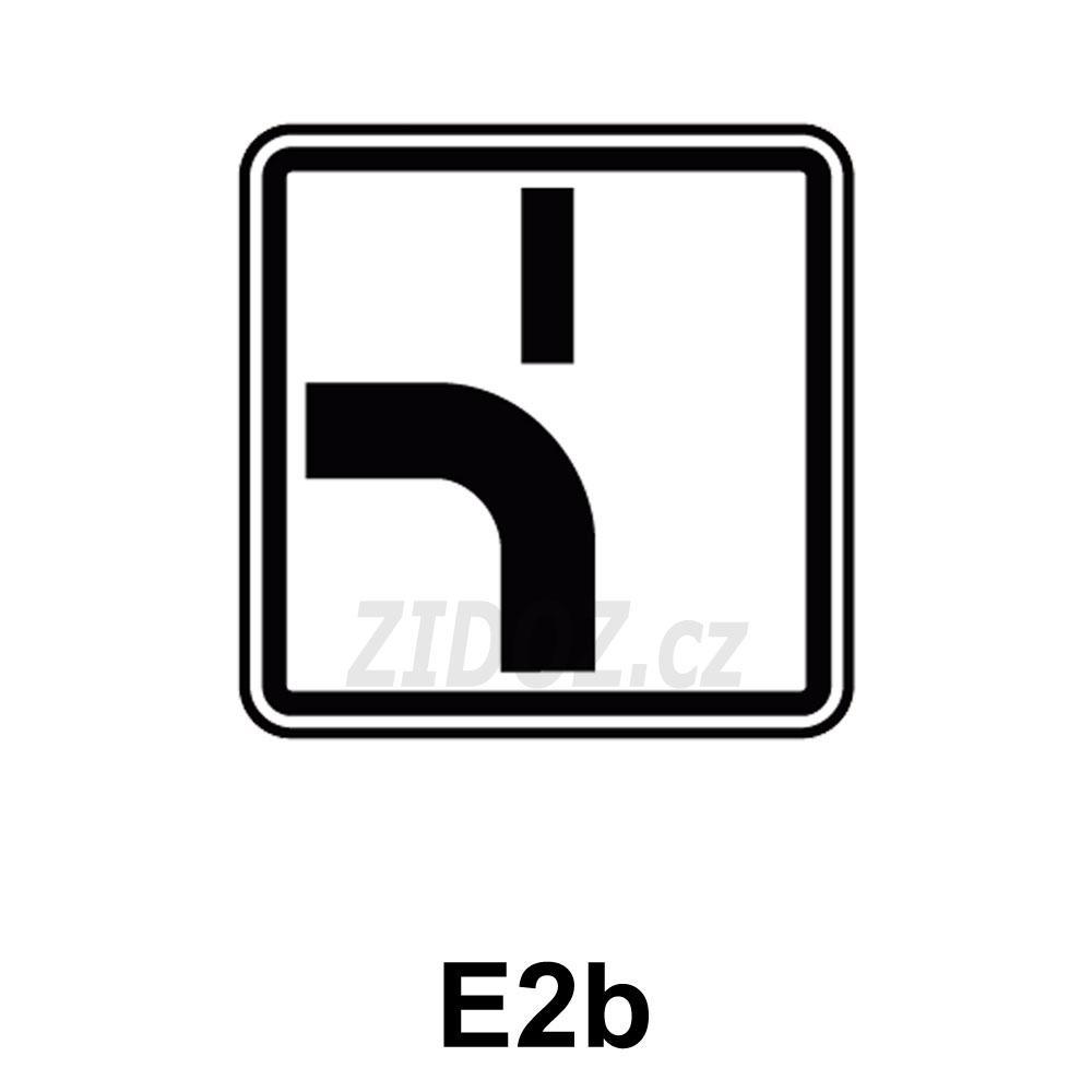 E02b - Tvar křižovatky