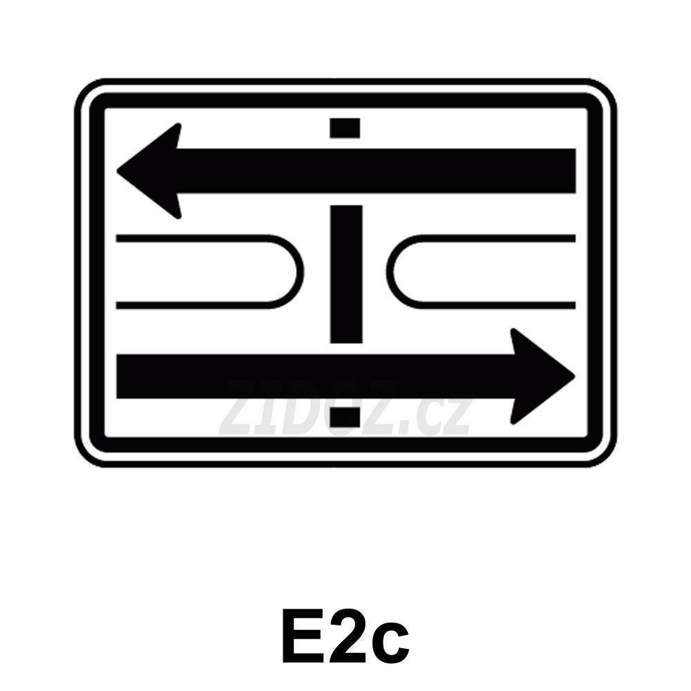 E02c - Tvar křižovatky
