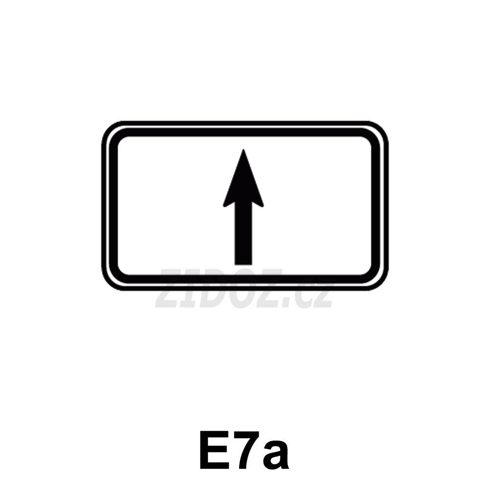 E07a - Směrová šipka