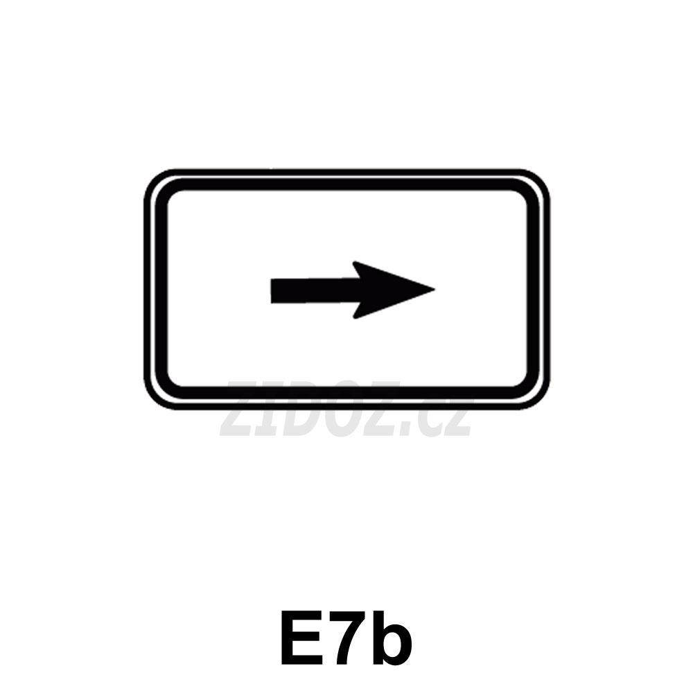 E07b - Směrová šipka