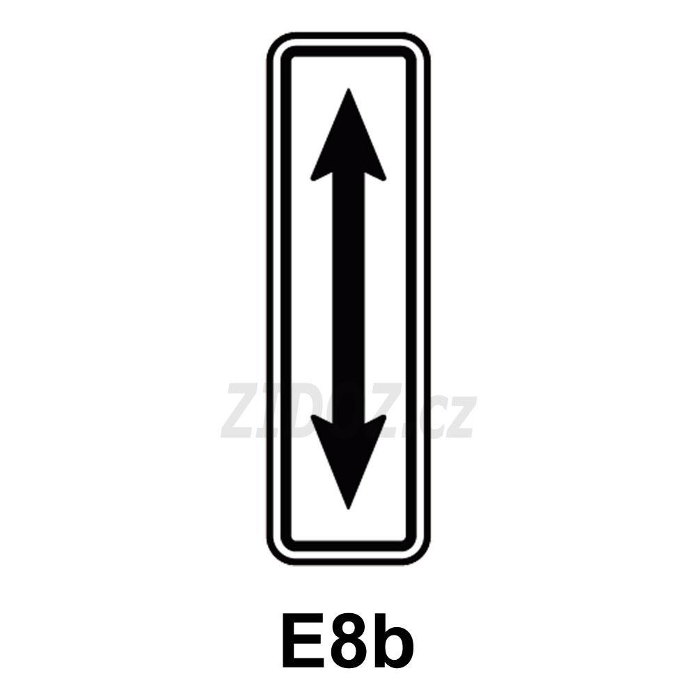 E08b - Průběh úseku