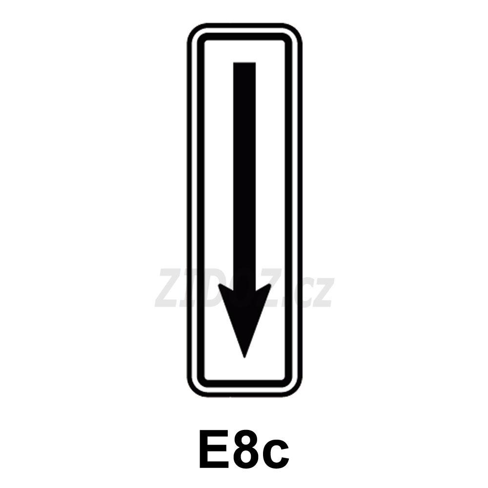 E08c - Konec úseku