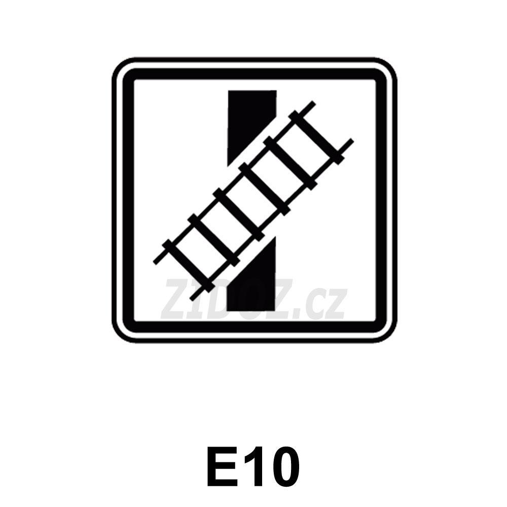 E10 - Tvar křížení pozemní komunikace s dráhou