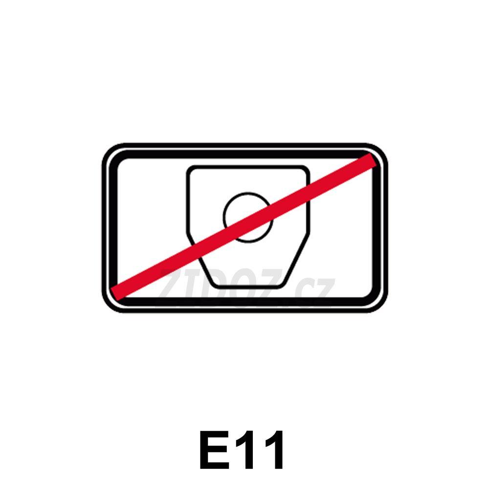 E11 - Bez poplatku