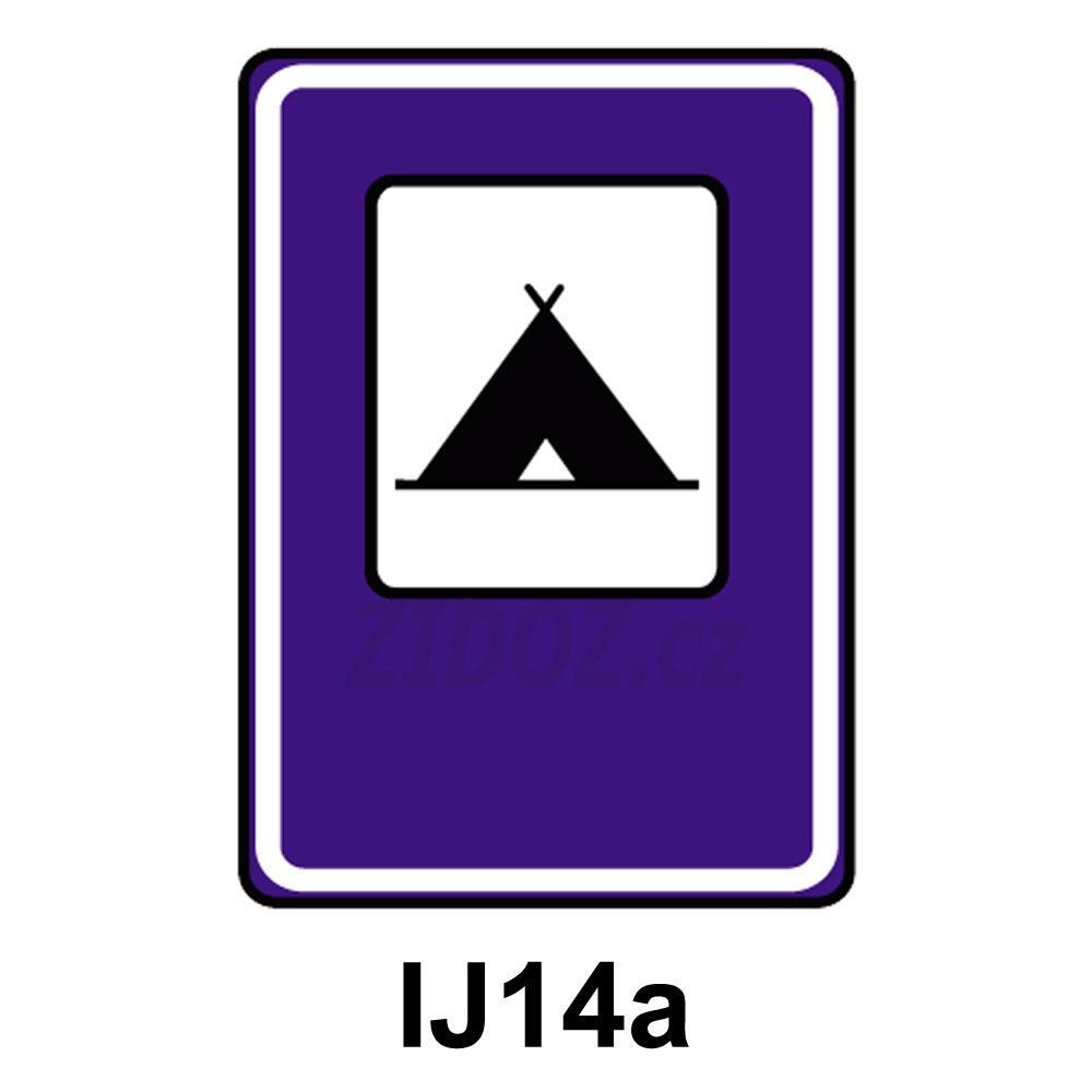 IJ14a - Tábořiště pro stany.