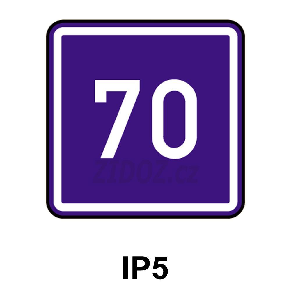 IP05 - Doporučená rychlost