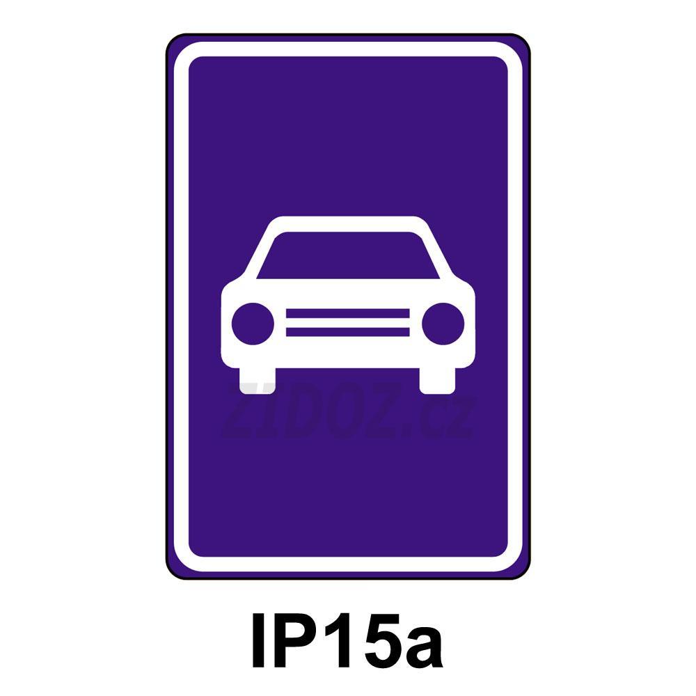 IP15a - Silnice pro motorová vozidla