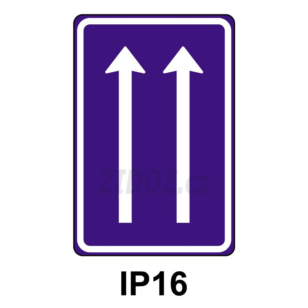 IP16 - Uspořádání jízdních pruhů