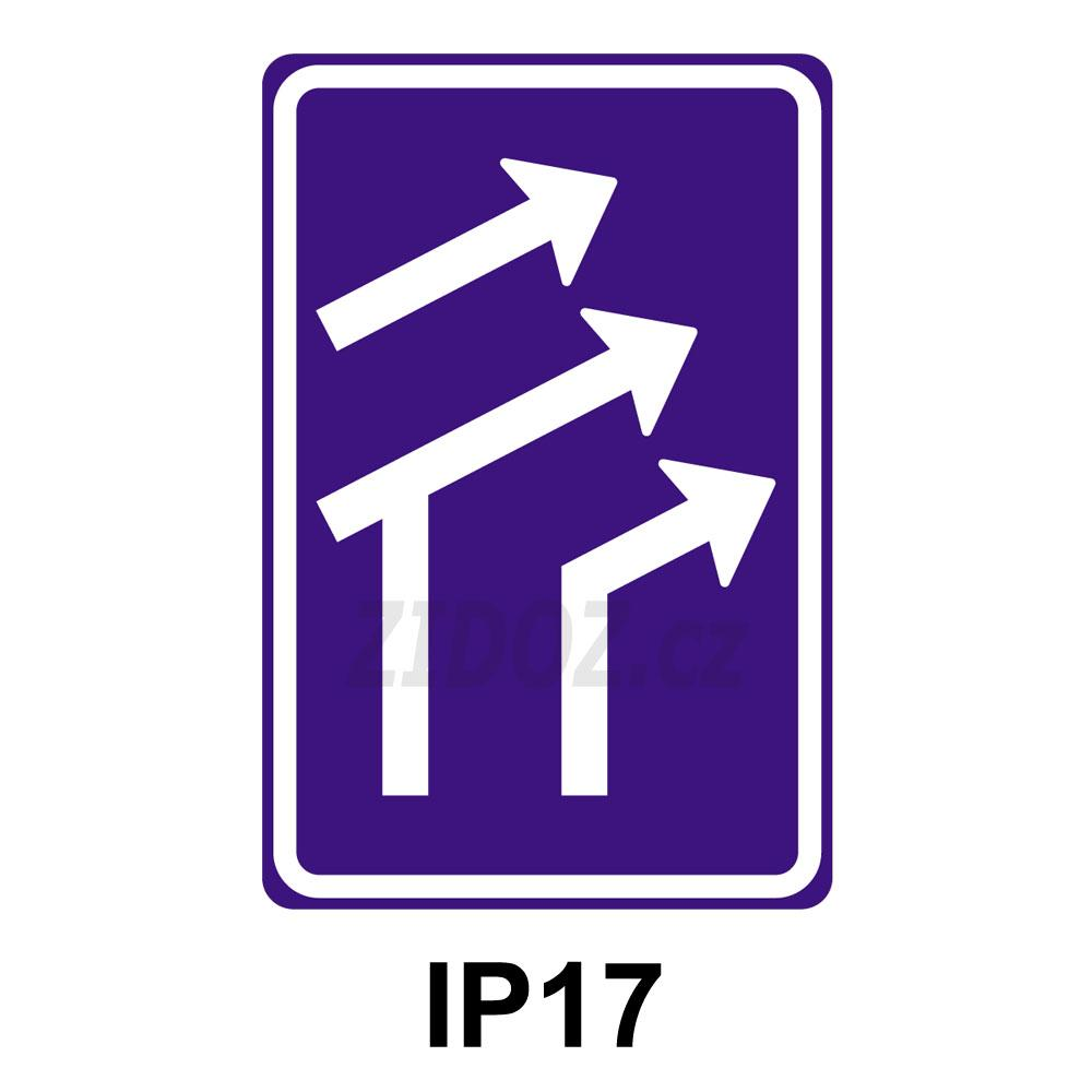 IP17 - Uspořádání jízdních pruhů