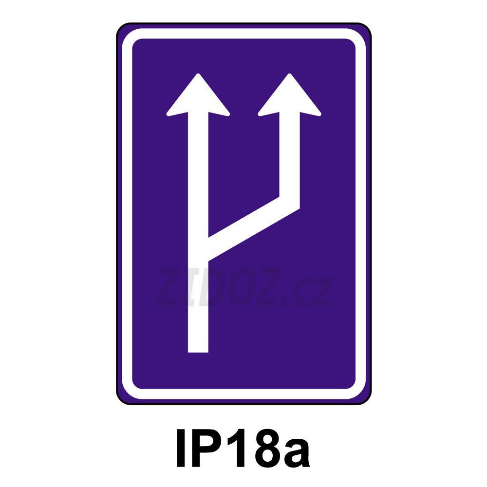 IP18a - Zvýšení počtu jízdních pruhů