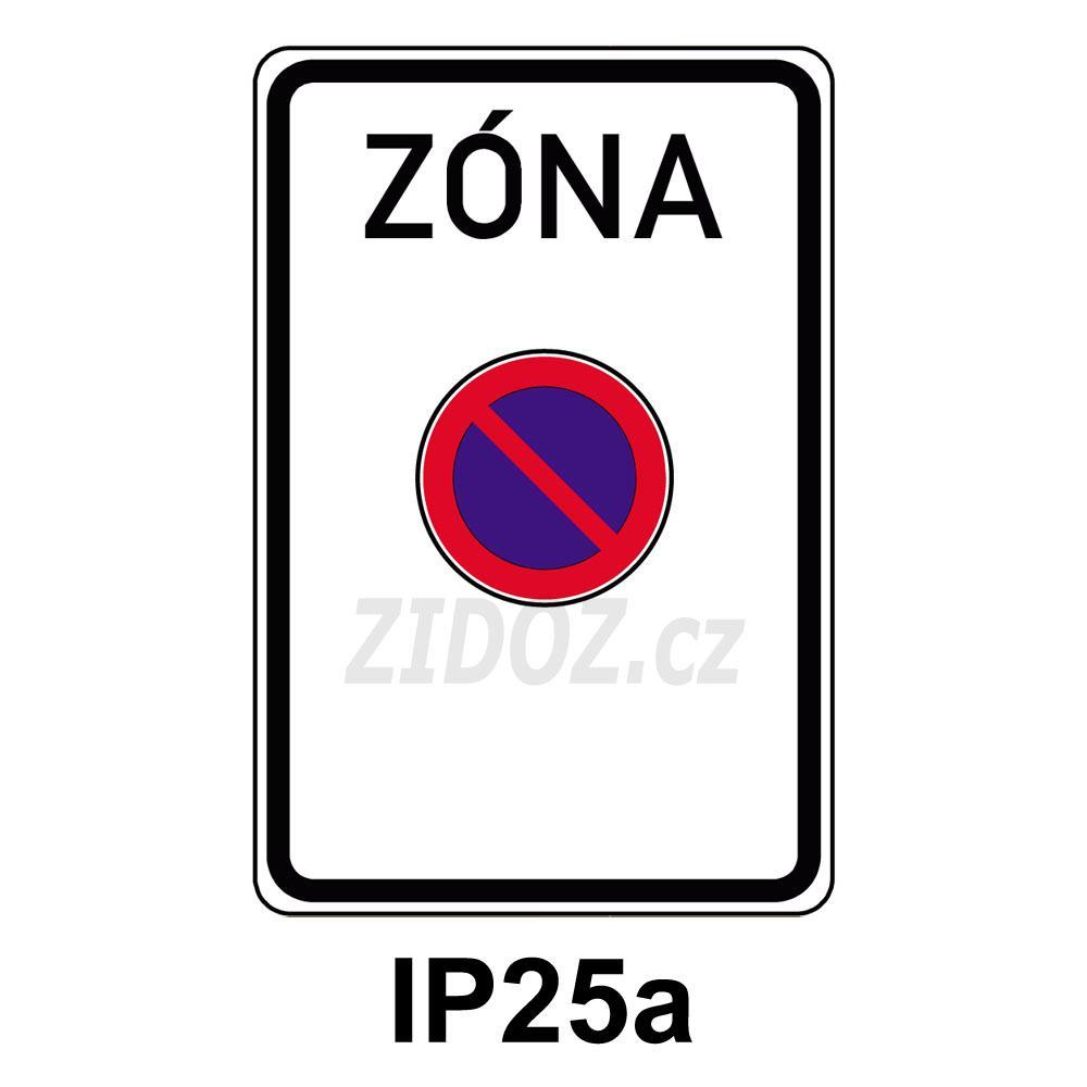 IP25a - Zóna s dopr. omezením