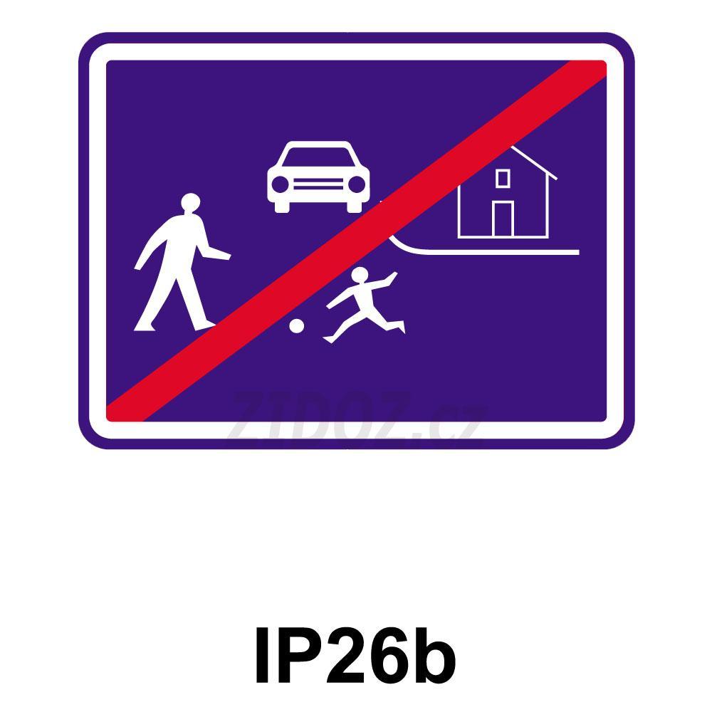 IP26b - Konec obytné zóny