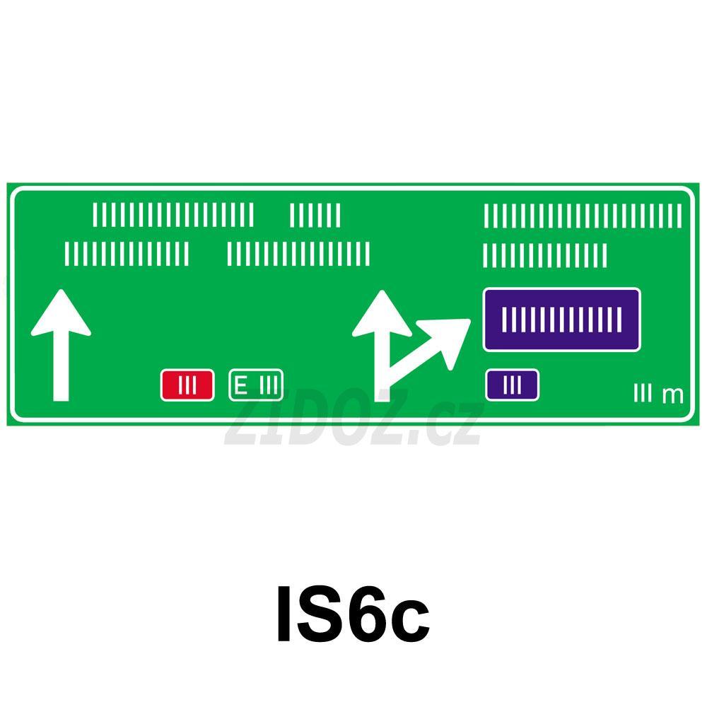 IS06c - Návěst před křižovatkou
