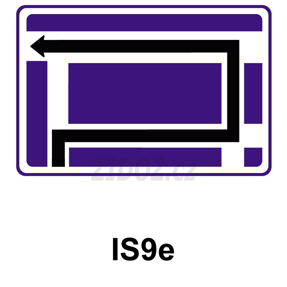 IS09e - Návěst před křižovatkou
