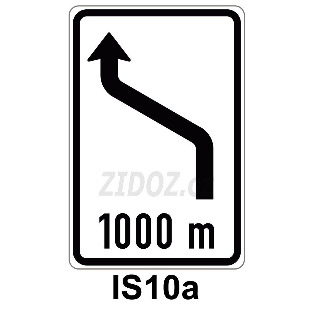 IS10a - Návěst změny směru jízdy