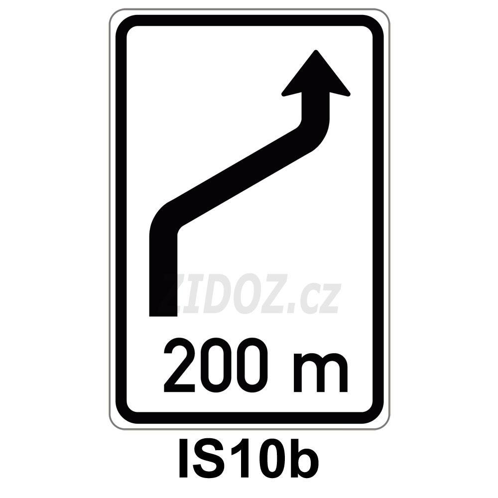 IS10b - Návěst změny směru jízdy