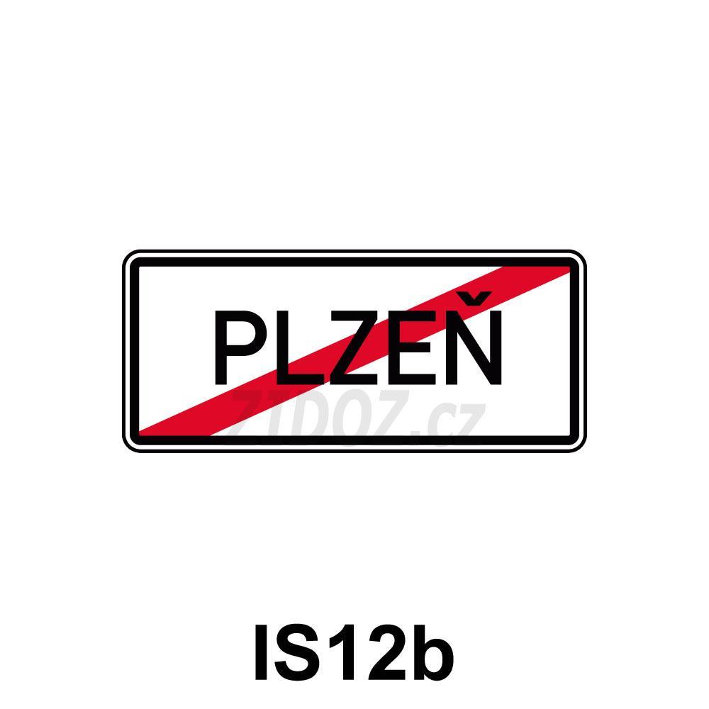 IS12b - Konec obce