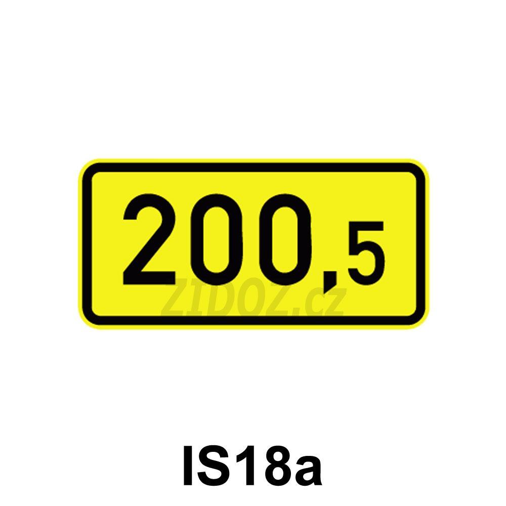 IS18a - Kilometrovník