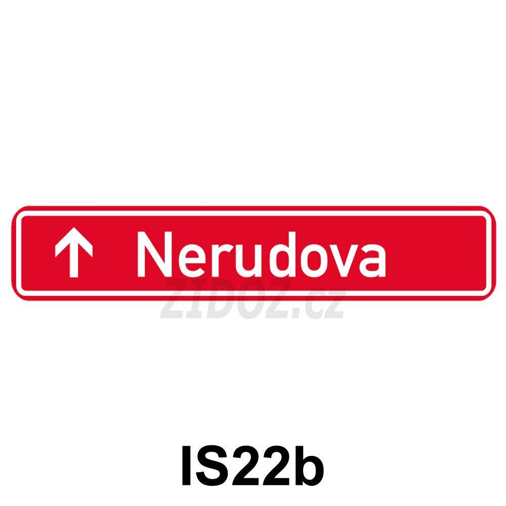 IS22b - Označení názvu ulice