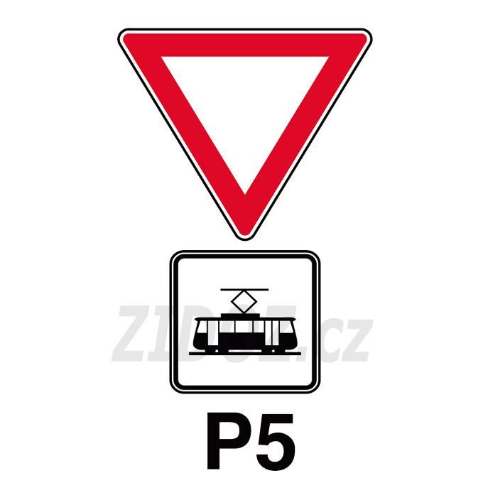 P05 - Dej přednost v jízdě tramvaji